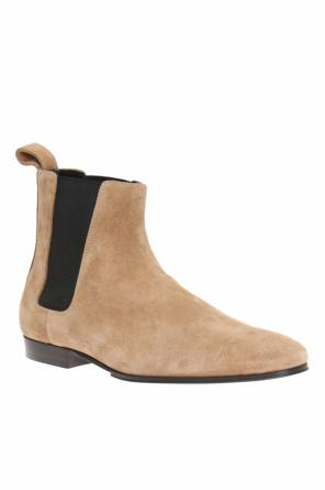 Suede chelsea boots od Balmain