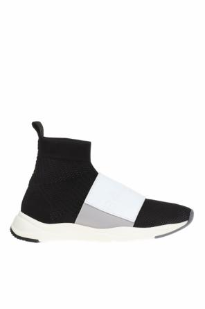 Sneakers with sock od Balmain