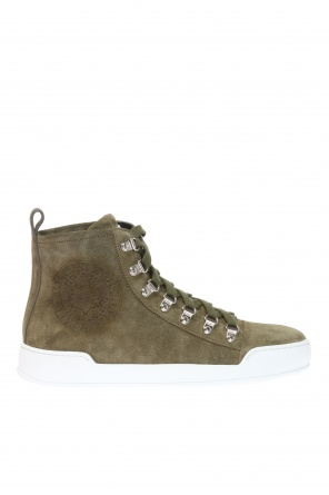 High-top sneakers with logo od Balmain