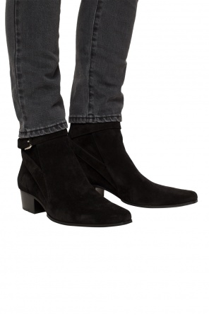 Buckled ankle boots od Balmain
