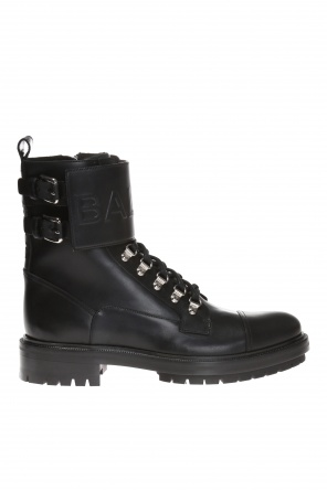 Lace-up ankle boots od Balmain