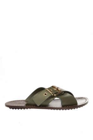 Buckled slides od Marni