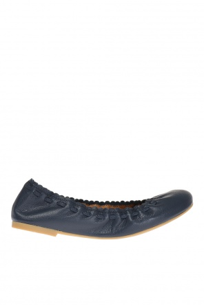Leather ballet flats od See By Chloe