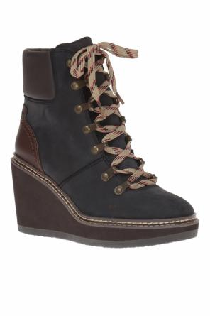 Wedge ankle boots od See By Chloe