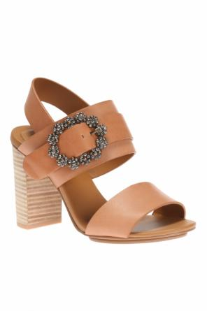 Heeled sandals with buckle od See By Chloe