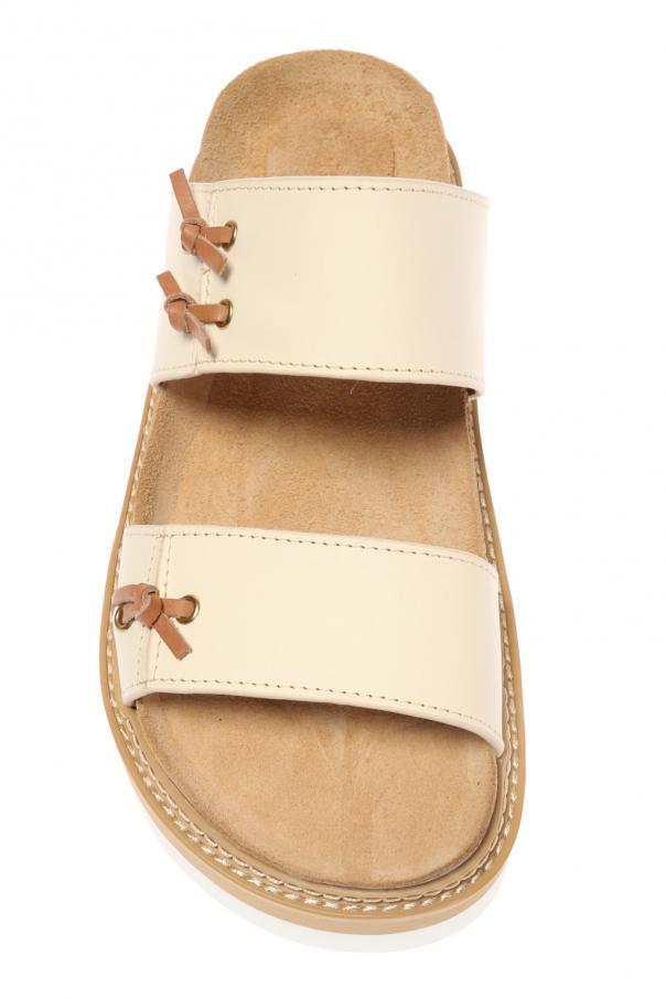 leather sandals see by chloe vitkac shop online. Black Bedroom Furniture Sets. Home Design Ideas