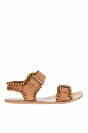 Sandals with stitching od See By Chloe