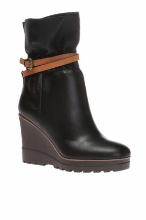 Slip-on wedge boots od See By Chloe