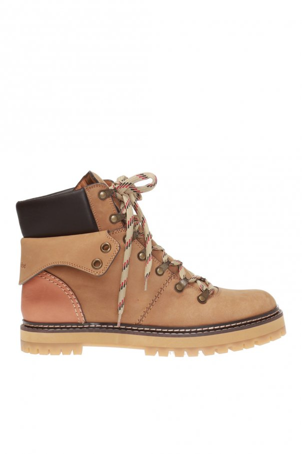 See By Chloe 'Eileen' suede hiking boots