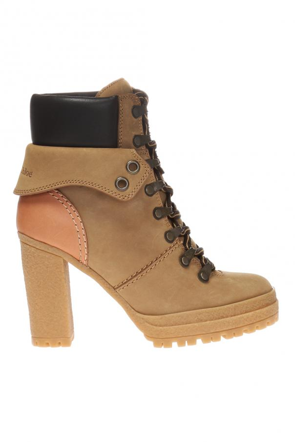See By Chloe 'Eileen' heeled ankle boots