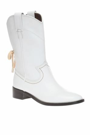 Ankle boots with lace-up split od See By Chloe