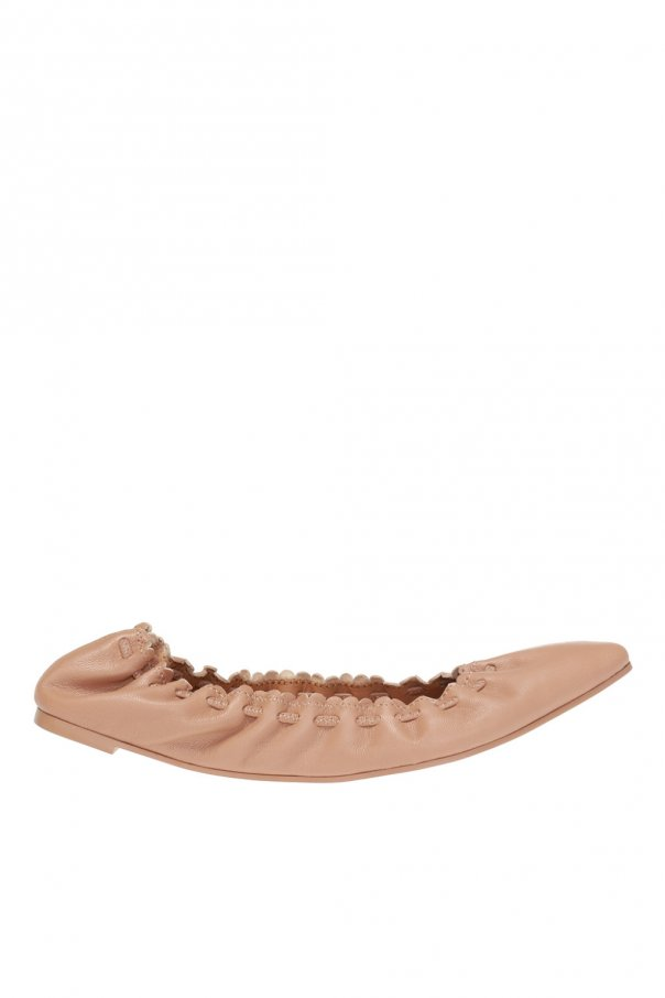 See By Chloe Ballet flats with woven details
