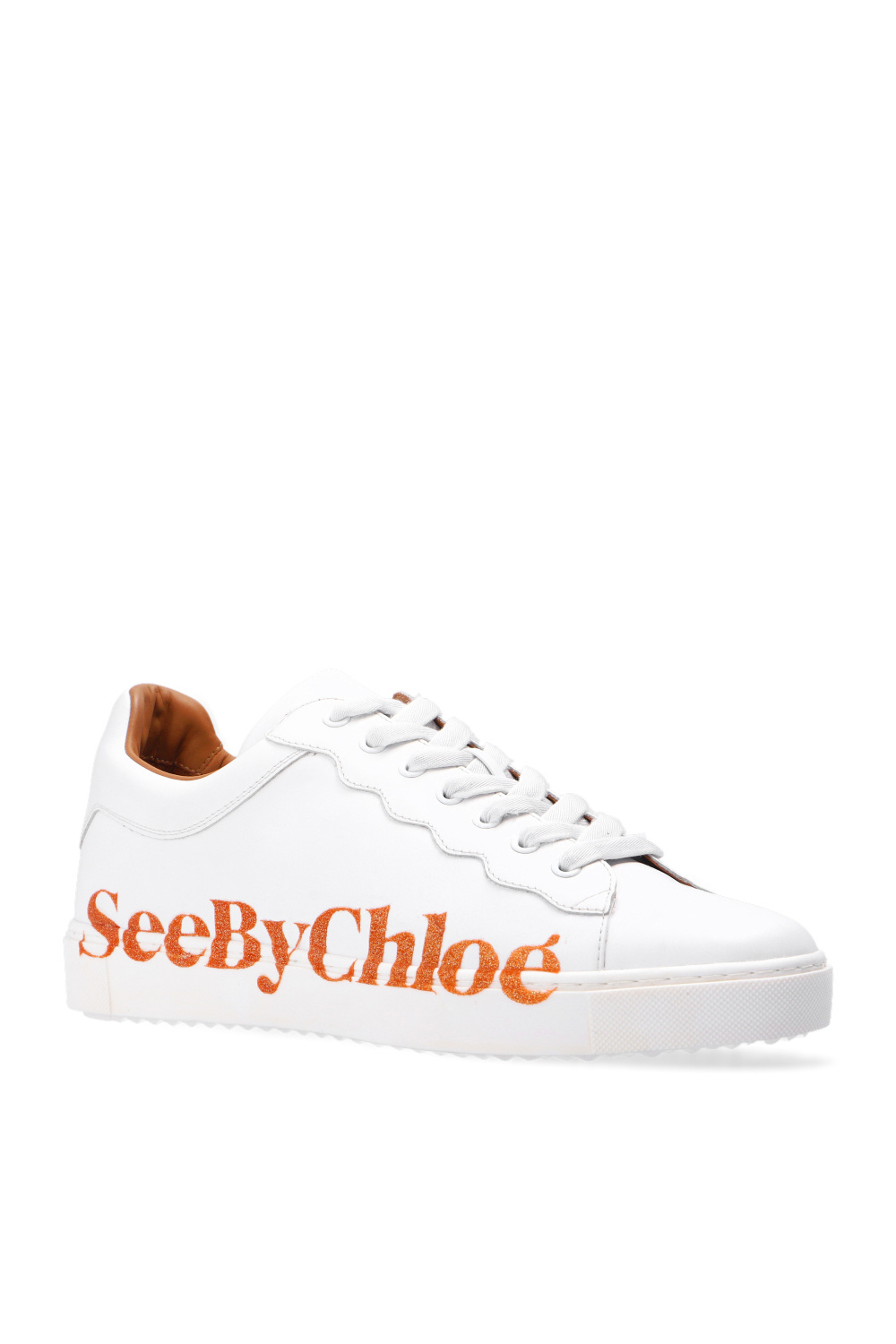 See By Chloe Lace-up shoes with logo