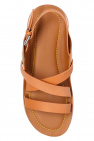 See By Chloe Leather sandals with logo