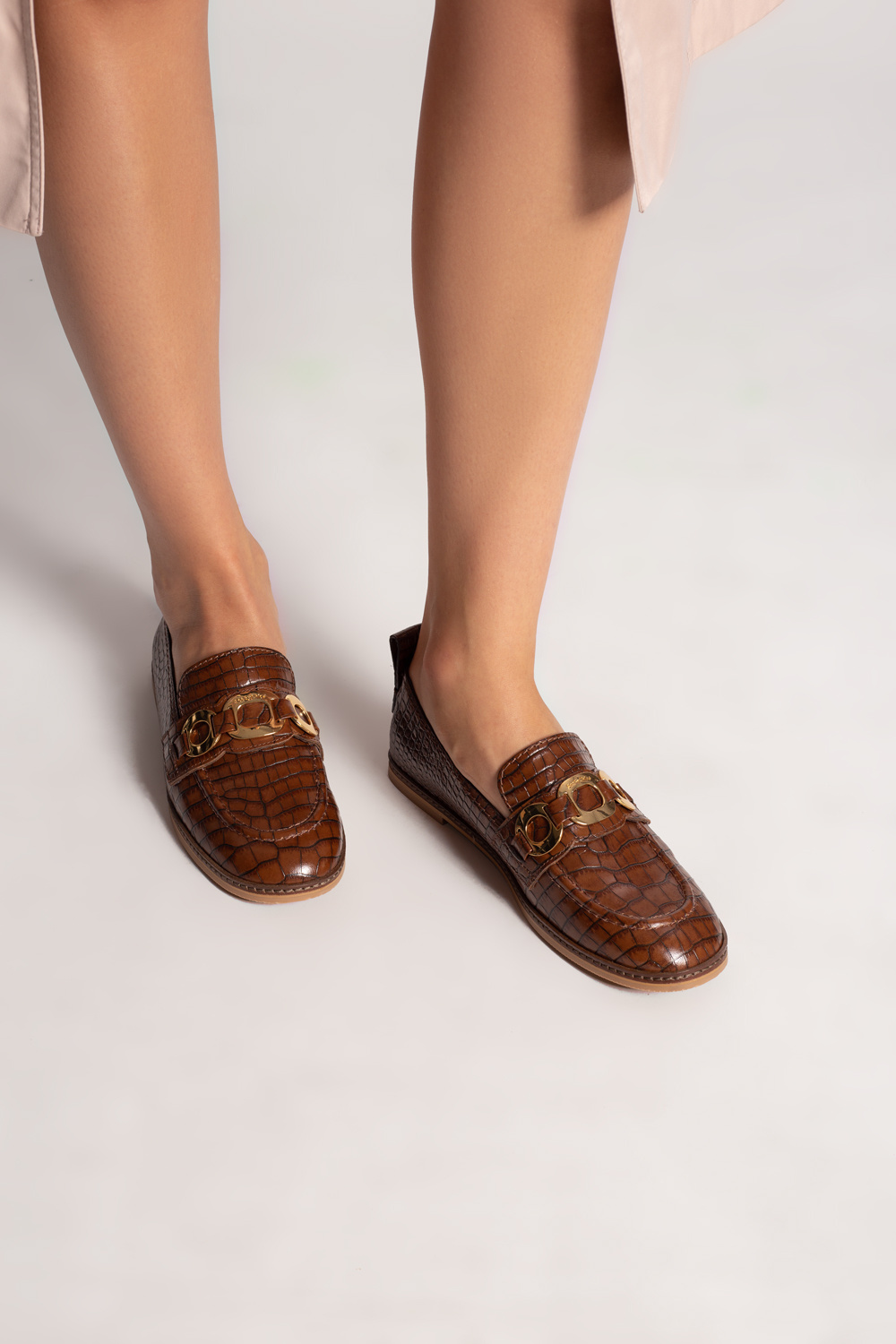 See By Chloe Leather loafers