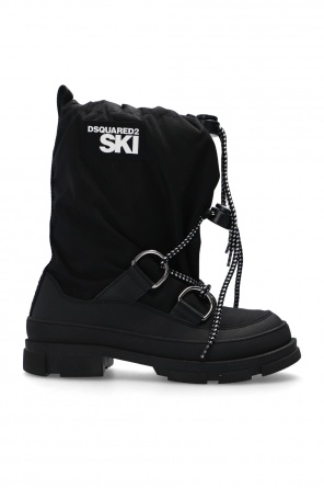 'lunar' snow boots with logo od Dsquared2