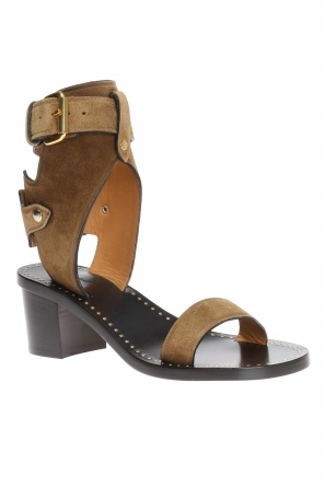 'jaeryn' heeled sandals od Isabel Marant