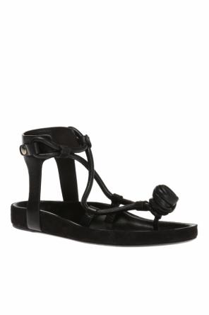 'jarley' leather sandals od Isabel Marant