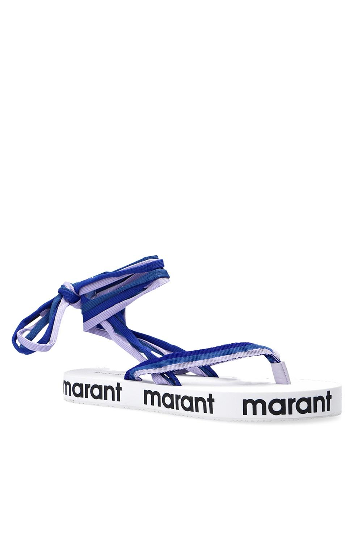 Isabel Marant Japonki z wiązaniem