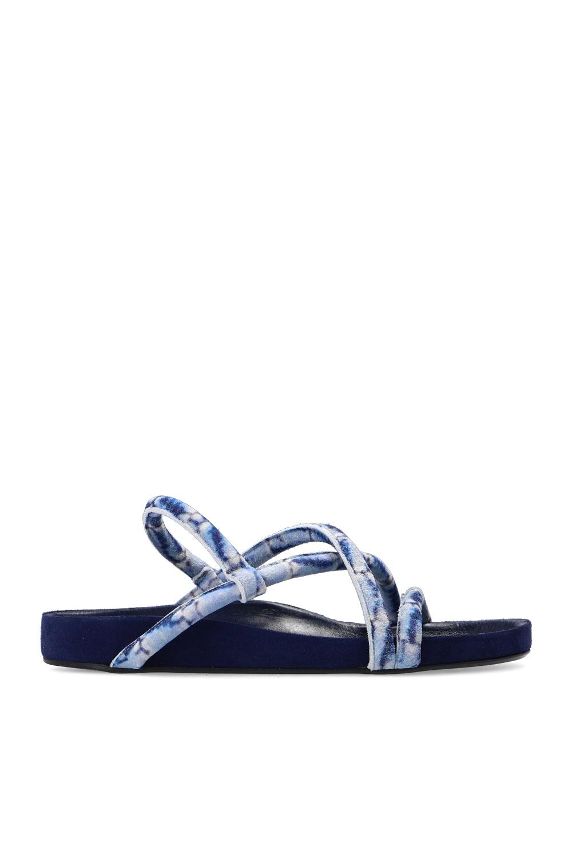 Velvet Tie Sandals Isabel Marant Vitkac Singapore