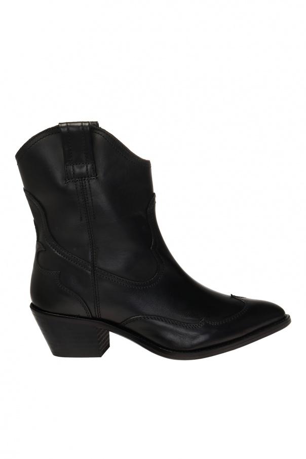 AllSaints 'Shira' heeled cowboy boots