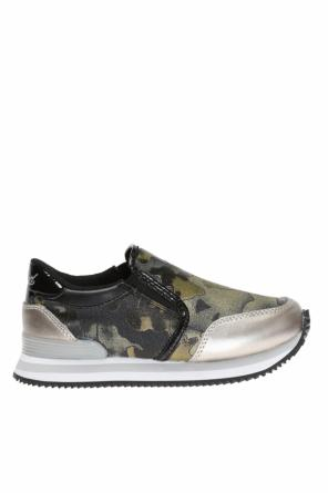 Patterned slip-on sneakers od Diesel