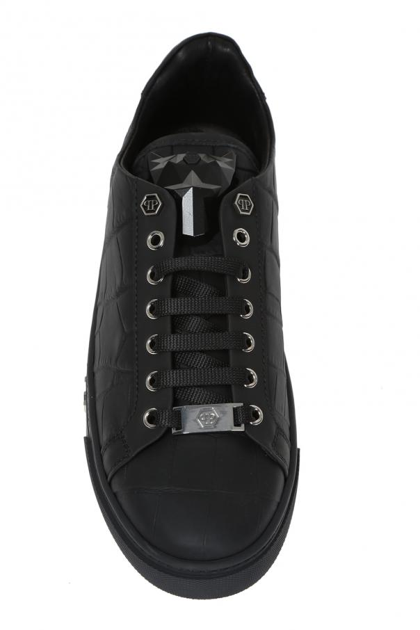 a988d389014 Tusk' leather sneakers Philipp Plein - Vitkac shop online