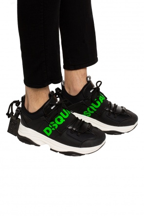 'bumpy' sneakers with logo od Dsquared2