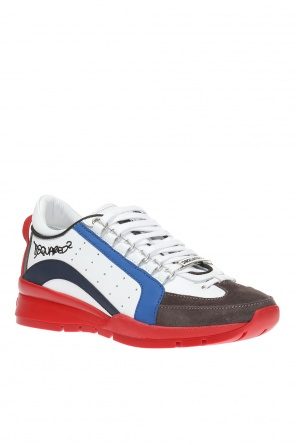 Logo-embroidered sneakers od Dsquared2