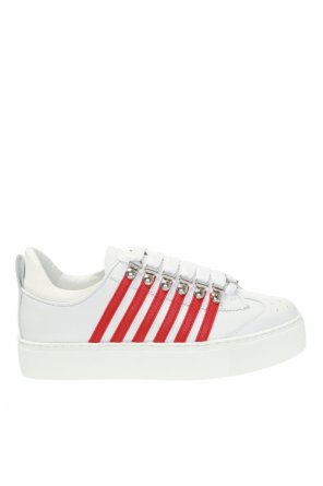 Sneakers with perforated details od Dsquared2