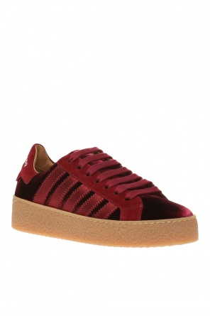 Platform sneakers with logo od Dsquared2