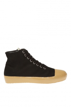Branded high-top sneakers od Marni