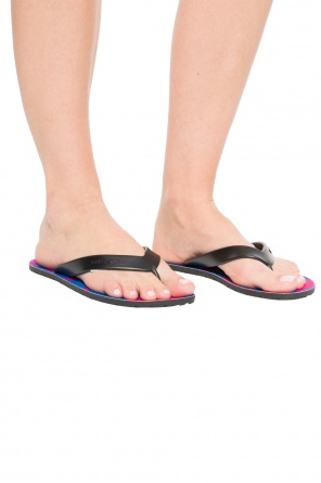 'splish' flip-flops with logo od Diesel