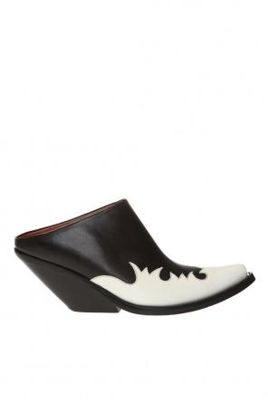 Kick-ass texan高跟穆勒鞋 od Vetements