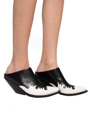 'kick-ass texan' heeled mules od Vetements