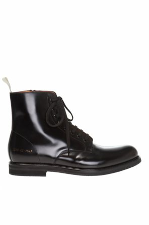 Leather ankle boots od Common Projects