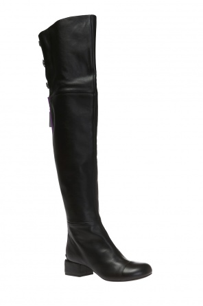 Heeled over-the-knee boots od Marni