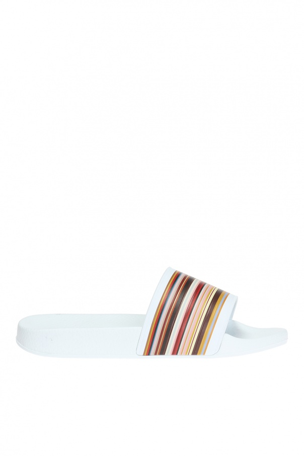 Paul Smith Striped sliders