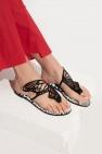 Sophia Webster 'Talulah' leather flip-flops