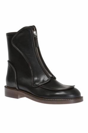 Leather ankle boots od Marni