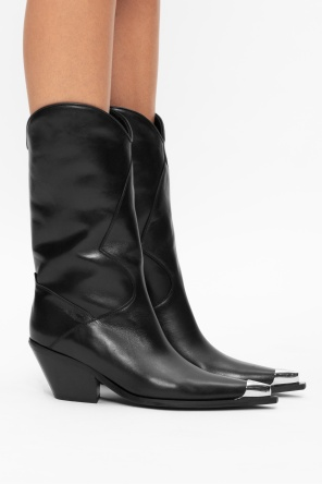 'texas cowboy' heeled ankle boots od MISBHV