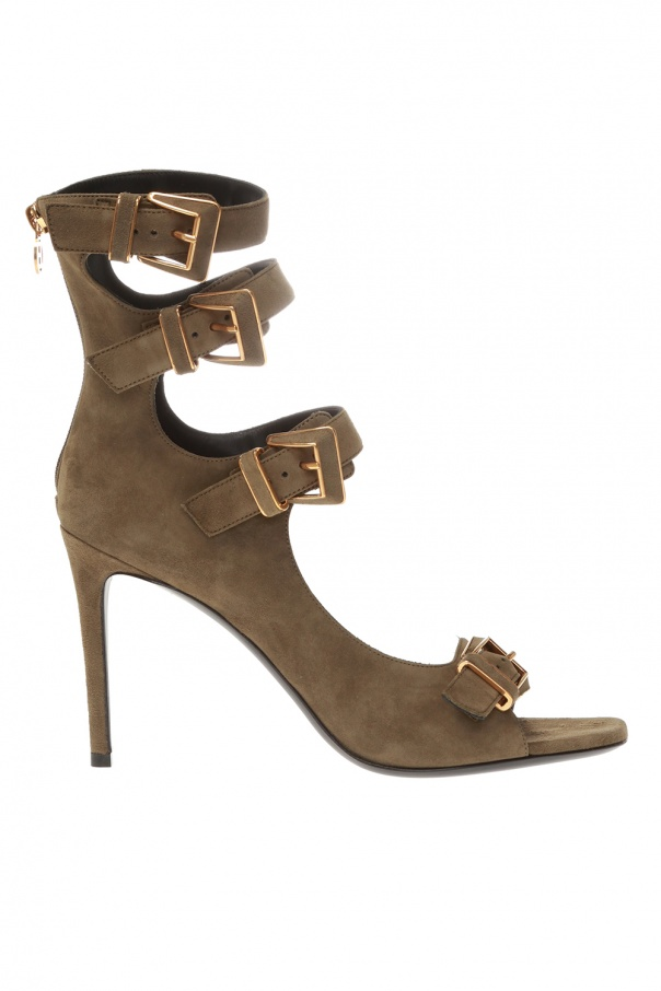 Balmain 'Paige' heeled sandals