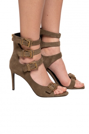 Heeled sandals od Balmain
