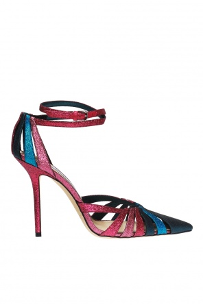 'travis' heeled sandals od Jimmy Choo