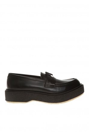 'type 143' leather platform shoes od Adieu Paris