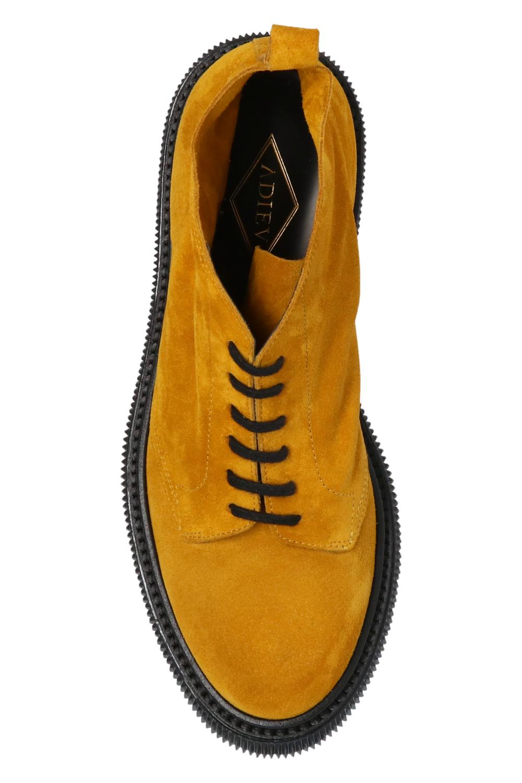 Adieu Paris 'Type 121' suede ankle boots