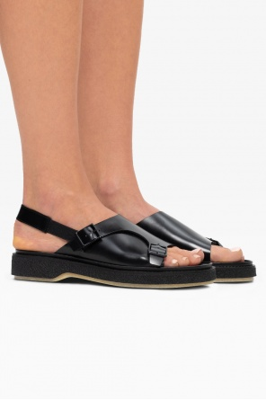 'type 140' leather sandals od Adieu Paris