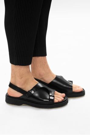 Type 140皮革凉鞋 od Adieu Paris
