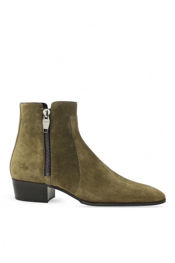 Balmain 'Beatle' heeled ankle boots