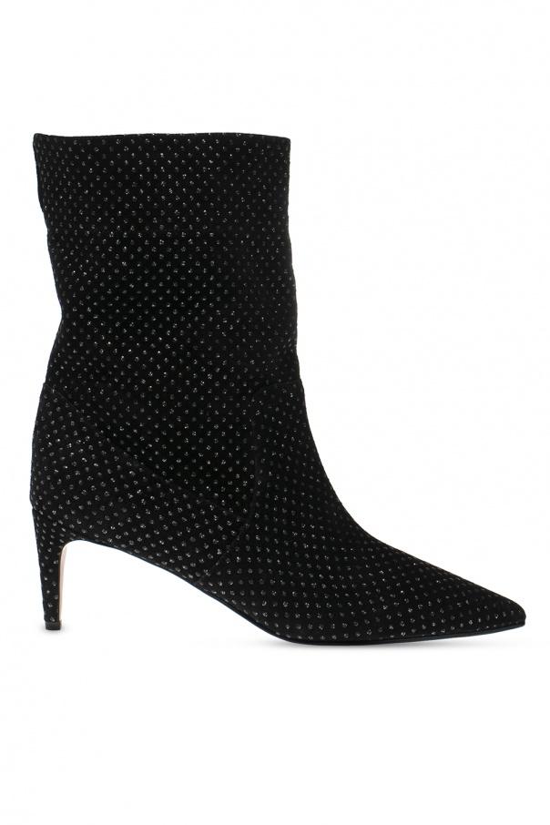 Red Valentino Slip-on heeled boots